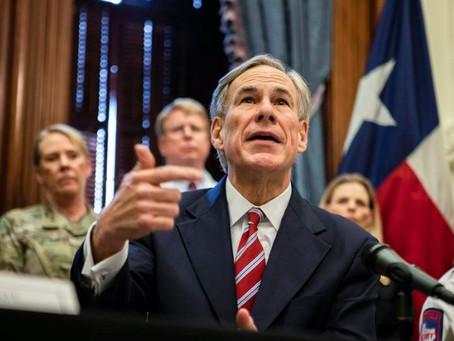 Техас вводит карантин для приезжих из трёх штатов