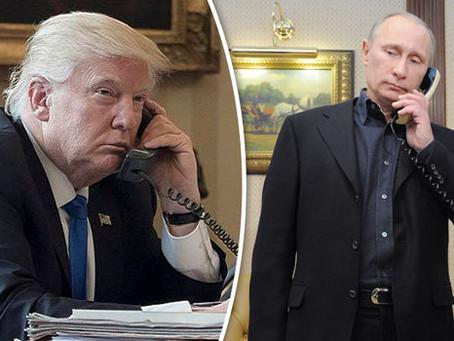 Трамп и Путин провели продолжительный телефонный разговор