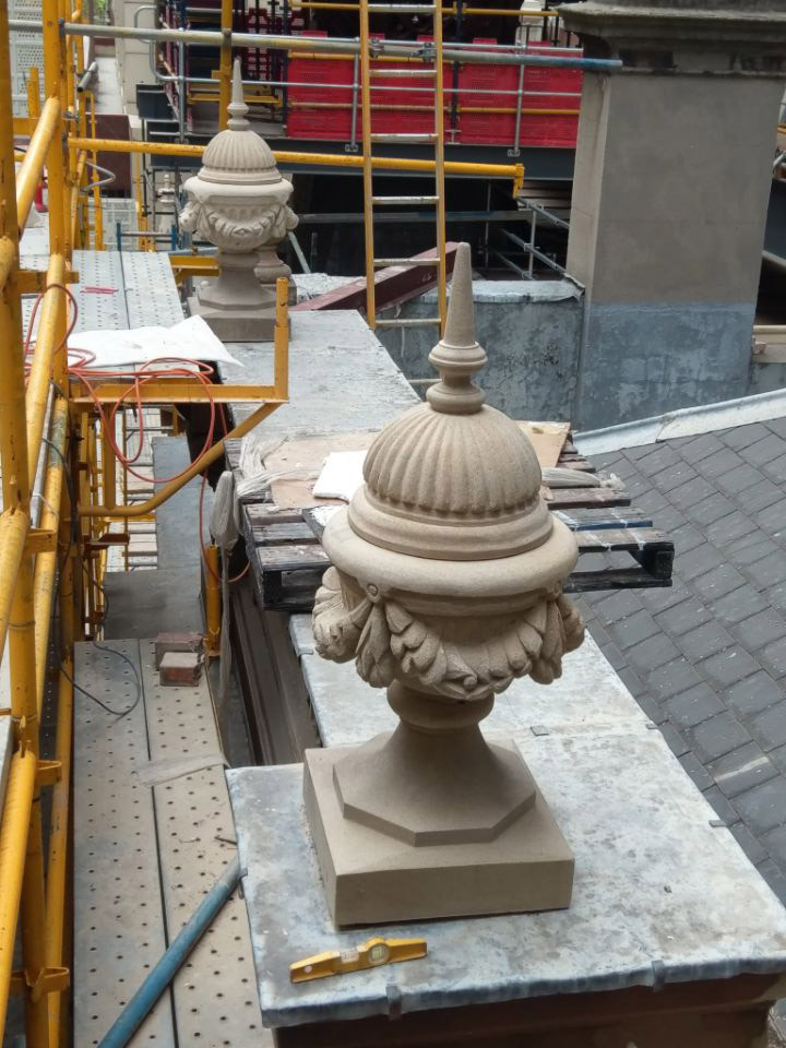 New Stone Urn