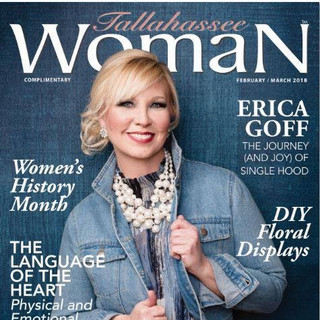 Erica Goff, Tallahassee Woman February/March Cover