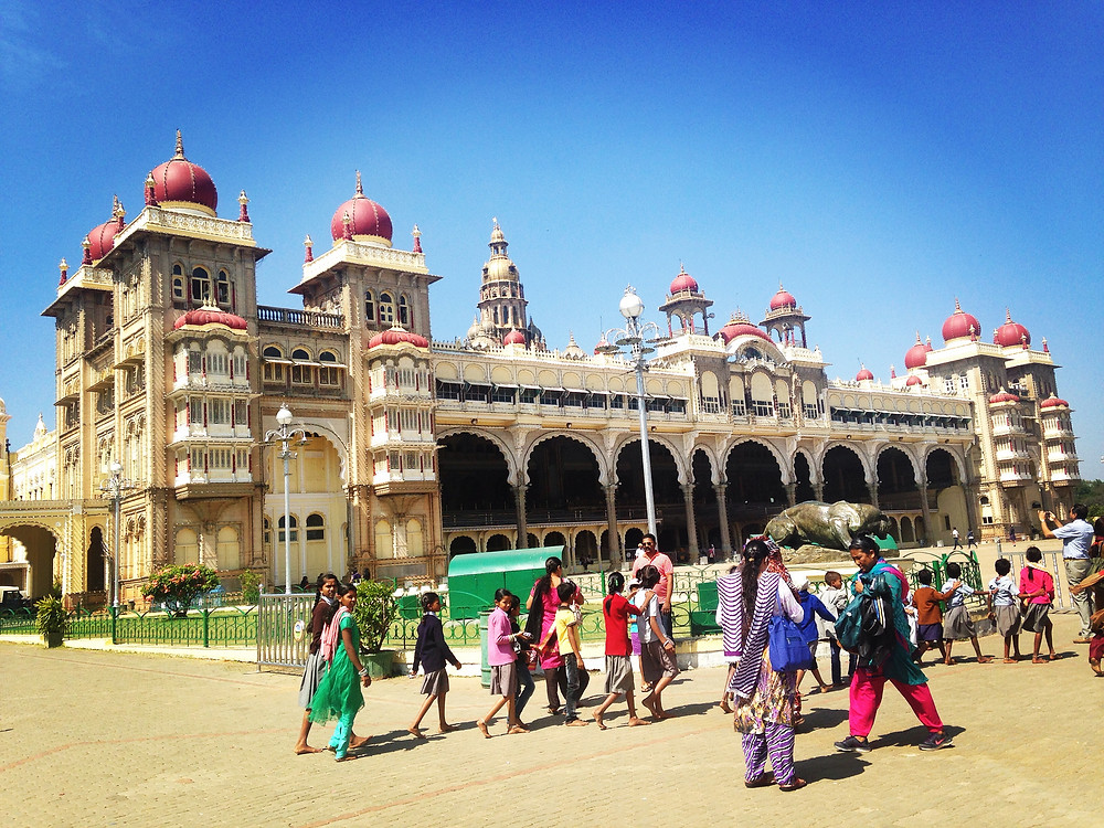 Mysore India Temple Travel Blog Blogger Art Pictures