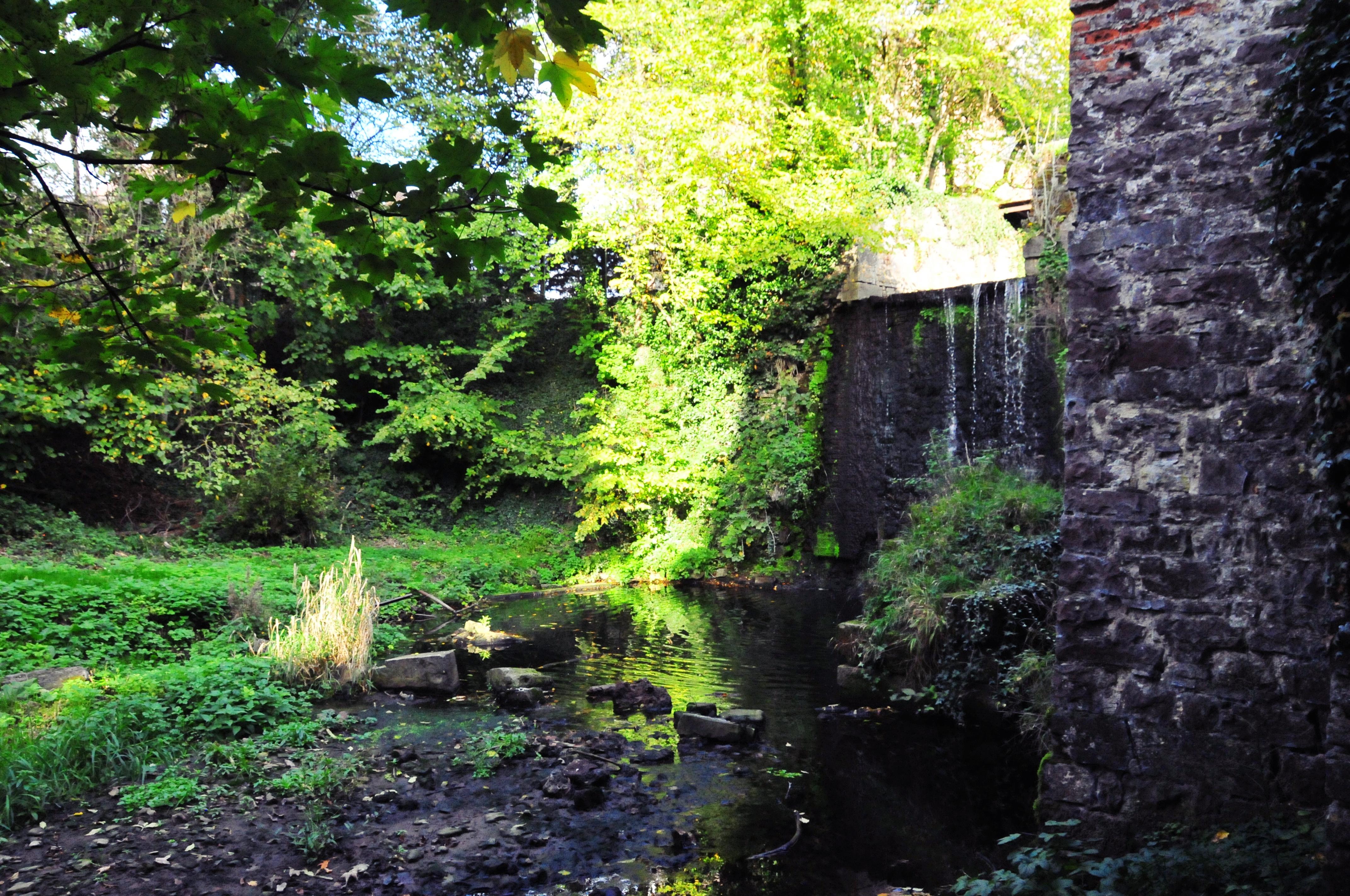 La chute d'eau du Moulin