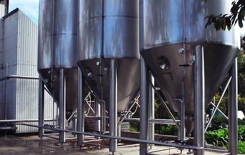 Cuves de fermentation Abbaye des Rocs