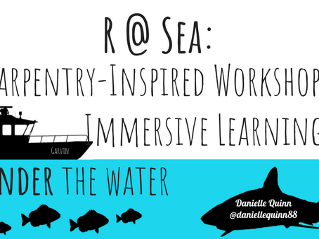 R at Sea: A Carpentries-Inspired Workshop for Immersive Learning On and Under the Water