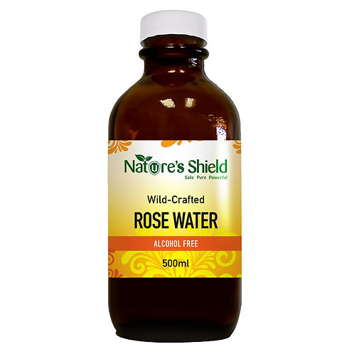 Natural Rose Water - 500ml