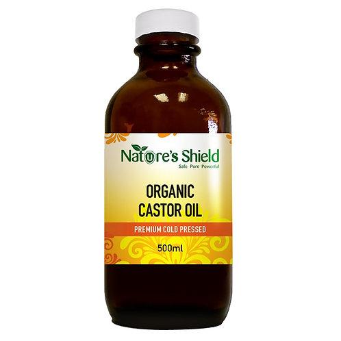 Organic Castor Oil – Ricinus Communis - 500ml