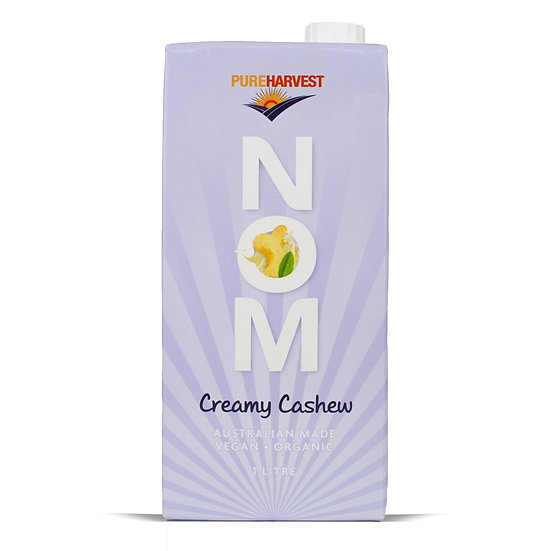 NOM - Creamy Cashew Milk
