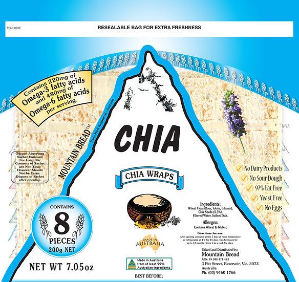 Mountain Bread - Chia Wraps