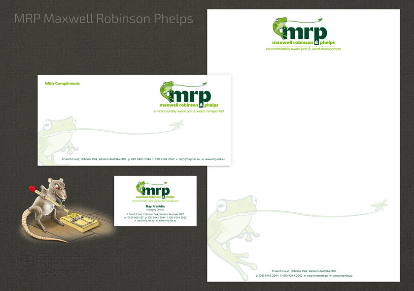 Maxwell Robinson & Phelps Stationery Set