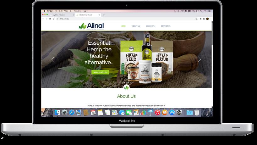 Alinal website.png