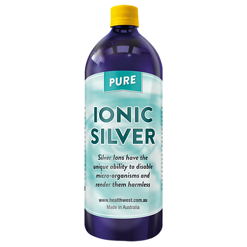 HealthWest Ionic Silver 1 litre