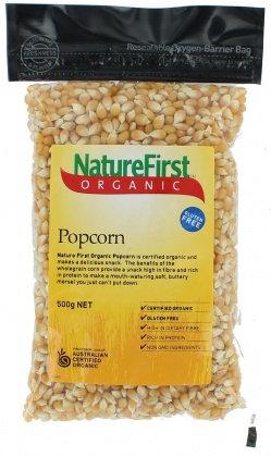 Nature First - Organic Popcorn