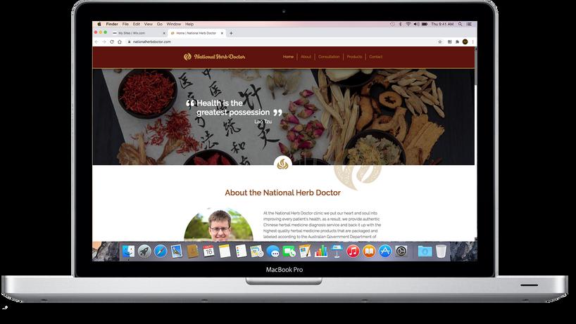 National Herb Doctor website.png
