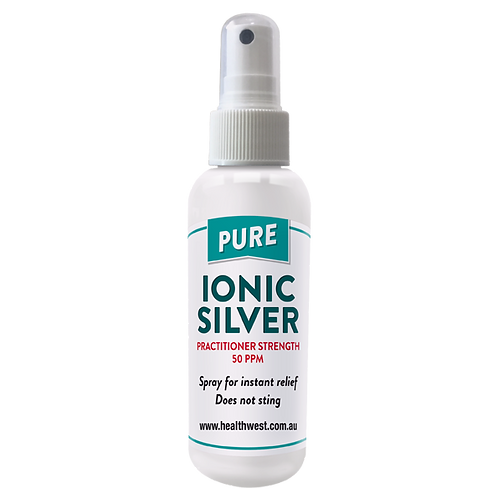 HealthWest Pure Ionic Silver 50ppm Spray