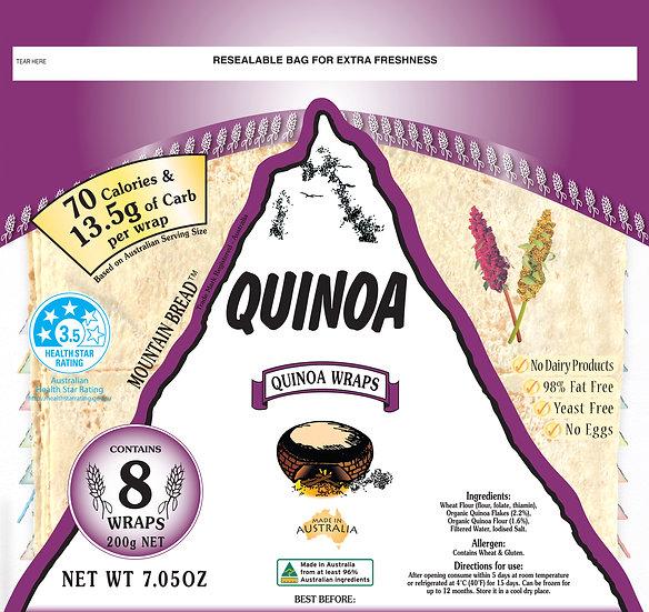 Mountain Bread - Quinoa Wraps