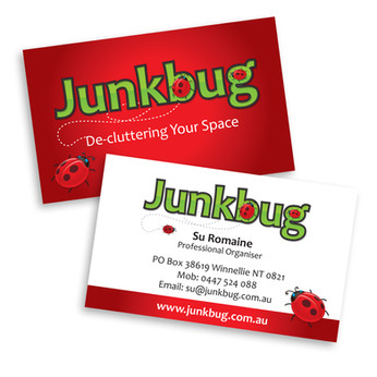 Junkbug Business Cards
