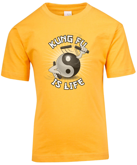 Kung Fu is Life Tee Design