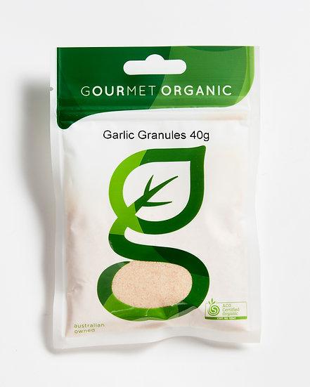 Gourmet Organic Foods - Garlic Granules