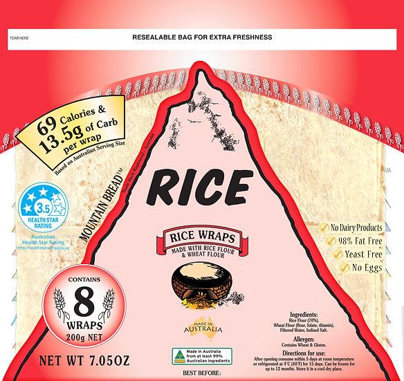 Mountain Bread - Rice Wraps