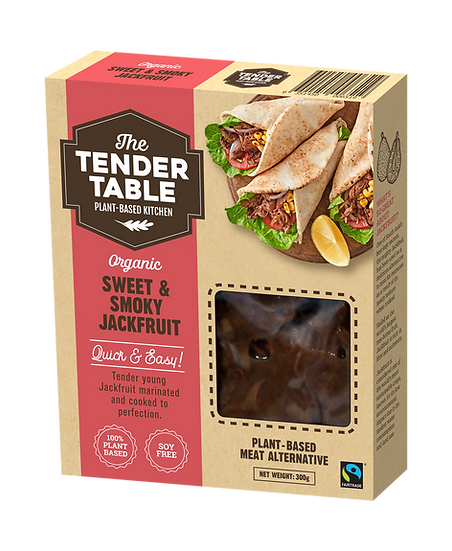Tender Table - Sweet & Smokey Jackfruit