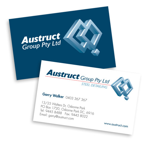 Austruct Business Cards