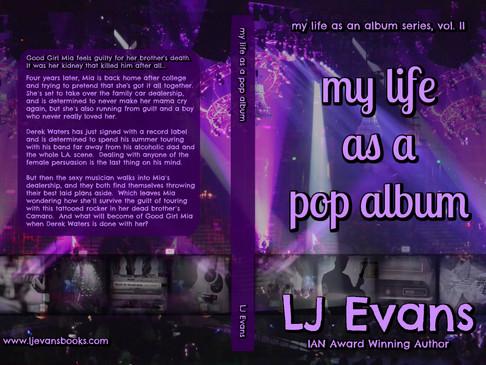 cover reveal! my life as a pop album