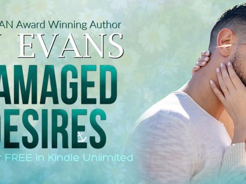 Damaged Desires Cover Reveal + Sneak Peek