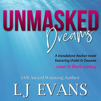 Unmasked Dreams Temporary Book Cover  sq