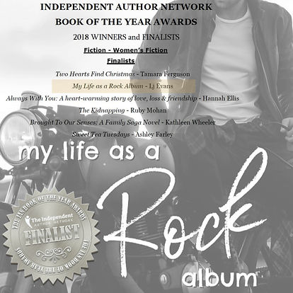 My Life as a Rock Album 2018 IAN Finalist