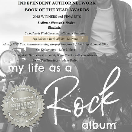 My Life as a Rock Album 2018 IAN Finalist