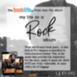 BookLife Prize review of My Life as a Rock Albm