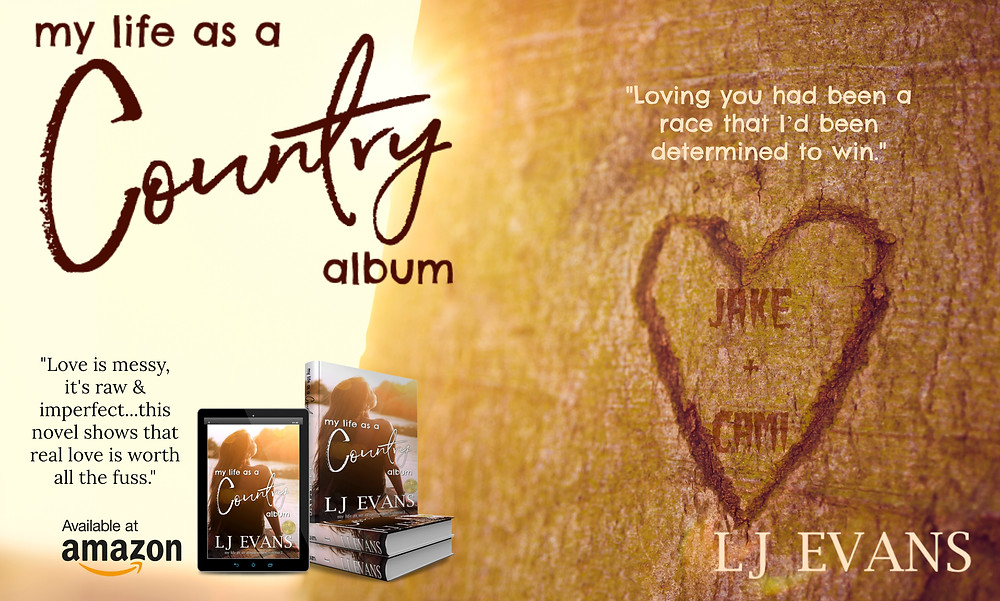 my life as a country album by LJ Evans