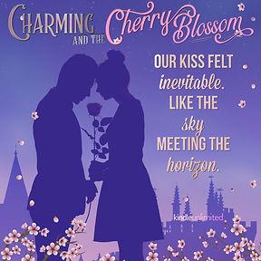 Charming & the Cherry Blossom Kiss Was Inevitable Silhouette.jpg