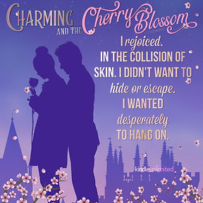 Charming and the Cherry Blossom Teaser Collision of Skin Silhouette