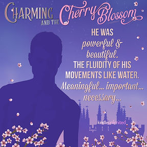Charming & the Cherry Blossom Teaser He Was Meaningful & Necessary Silhouette