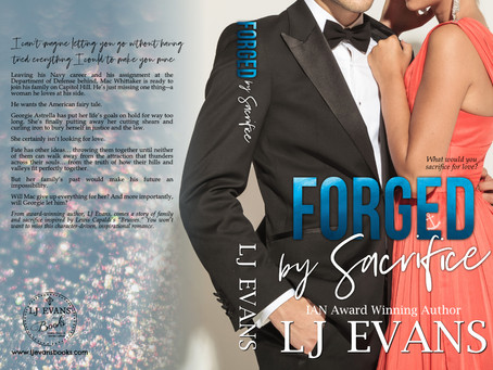 Forged by Sacrifice Cover Reveal