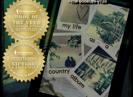 my life as a country album takes Book of the Year!