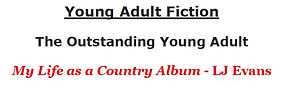 My Life as a Country Album 1st Place YA book of the year