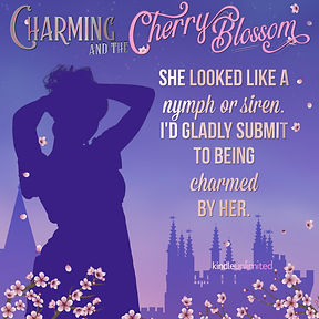 Charming & the Cherry Blossom Teaser I would be charmed by her Silhouette