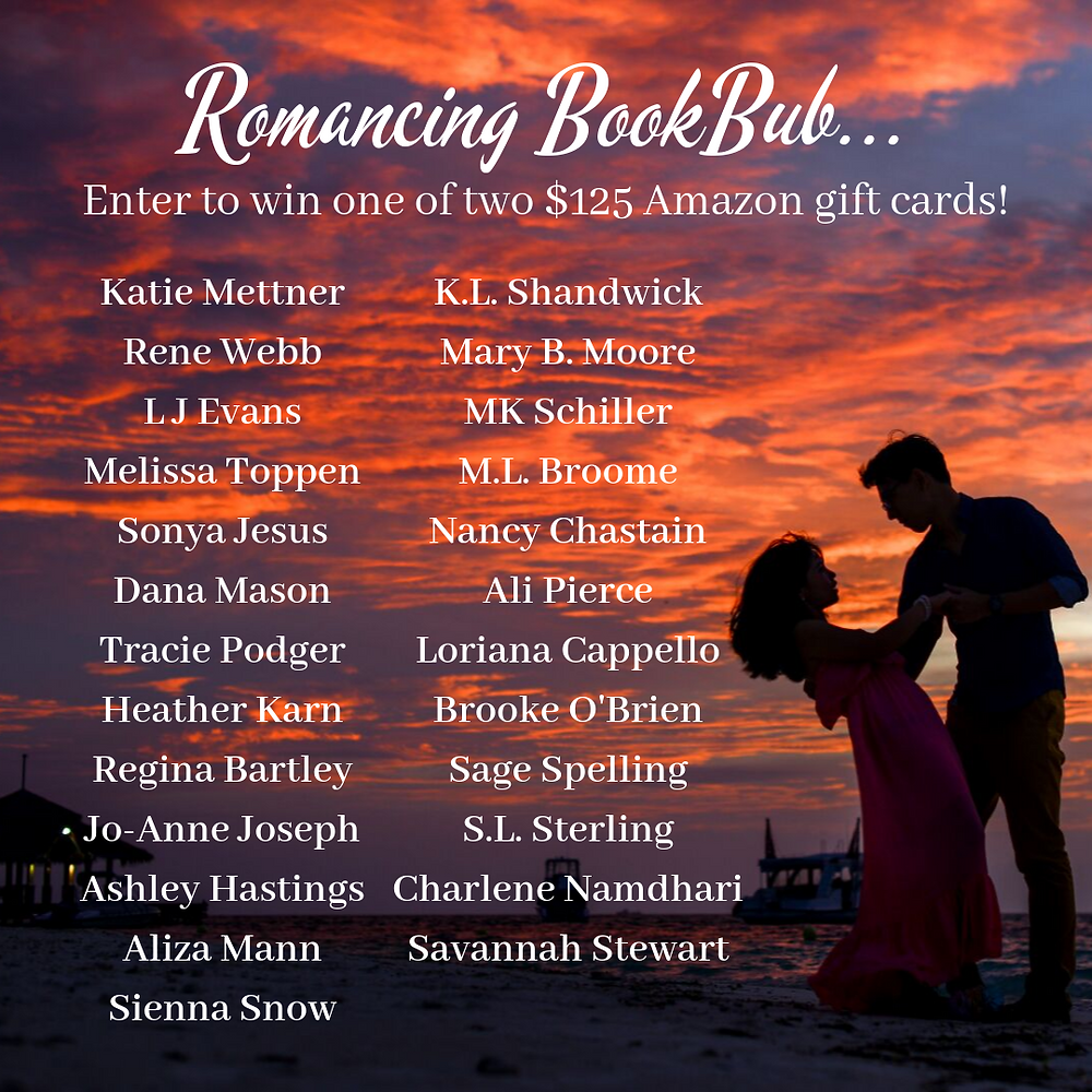 romance author bookbub giveaway pic