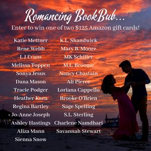 romance author bookbub giveaway pic