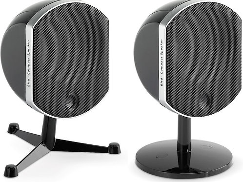 Focal Bird Compact satellite speakers (Black)