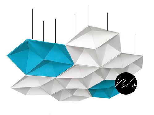 BAT Acoustic Ceiling Baffle - Umbrella Zone