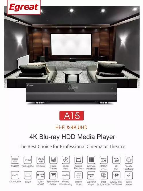 Egreat A15 Hifi Blu-ray Media Player