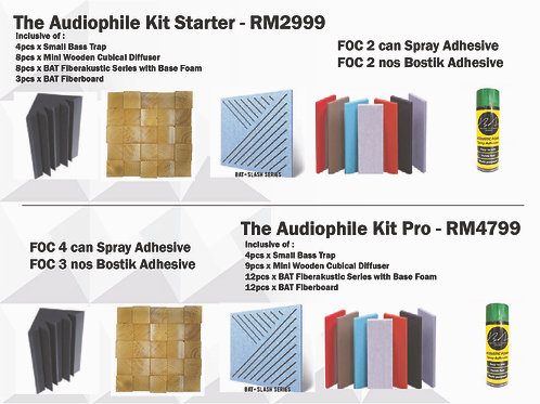 Audiophile Kit Package Starter / Pro