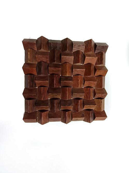 BA Mini Triangle Acoustic Wooden Panel