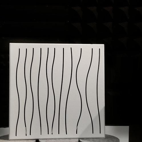 BAT Wave Fiberakustic Panel with Base Foam