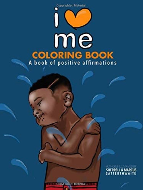 I Love Me Coloring Book