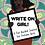 Thumbnail: Write On Girl!