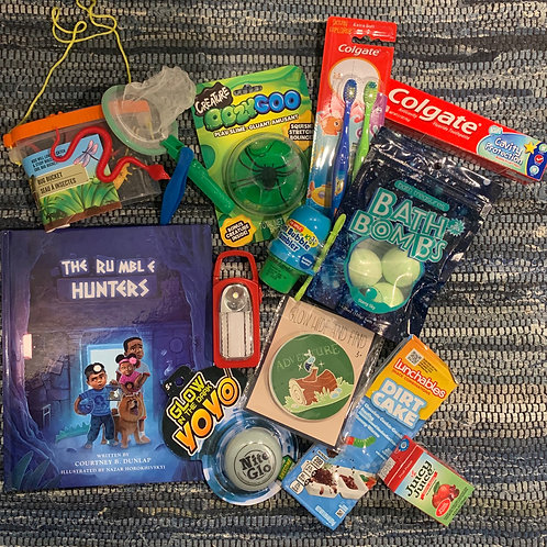 The Rumble Hunters-Curious Kid Book Box